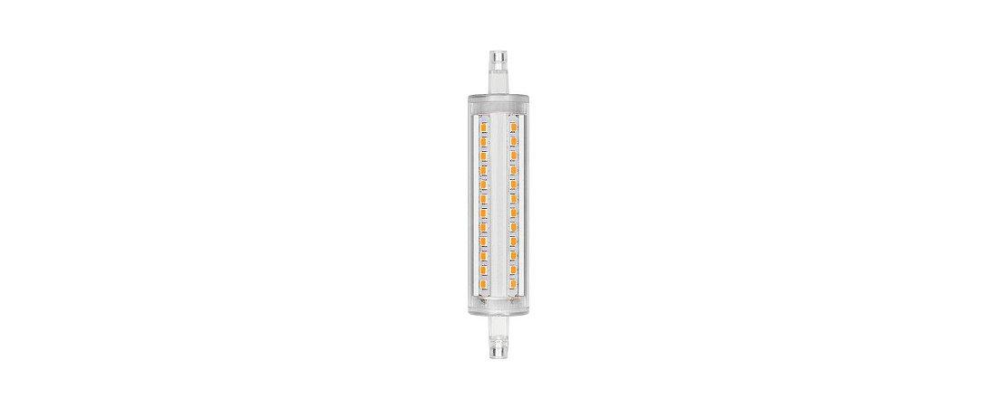 Lâmpada LED R7s Palito Média 9W 1055lm 2700K