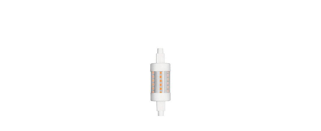 Lâmpada LED R7s Palito Curta 5W 500lm 2700K