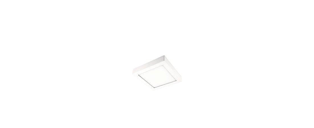 Spots Painel Slim Sobrepor 11,5x11,5cm 6W 320lm