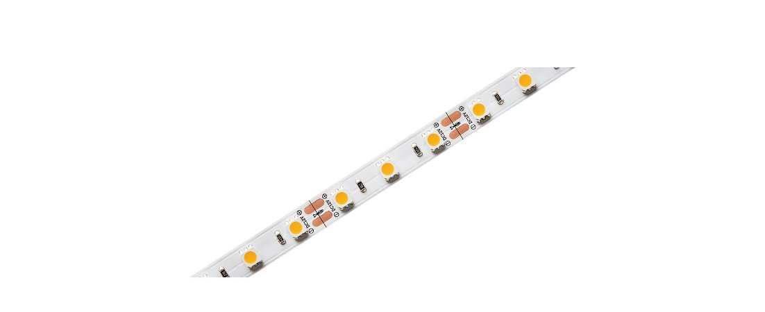 Rolo de 5 Metros Fita LED Eco 12V 10W/m 2700K 550lm/m IP65