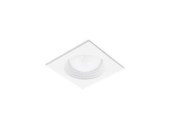 Luminária de Embutir Quadrada 10x10cm