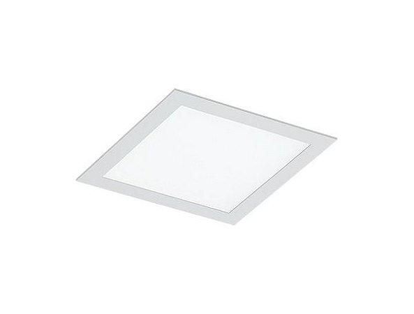Luminária de Embutir Quadrada 22x22cm 2xE27