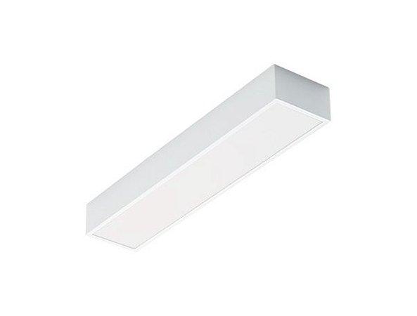 Luminária de Sobrepor Retangular 2xT8 60cm