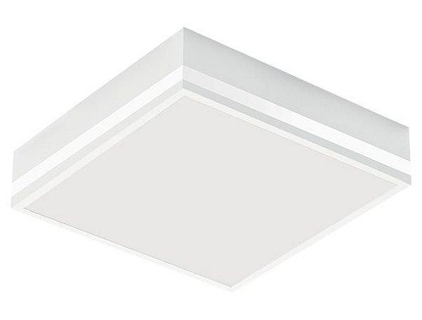 Luminária de Sobrepor Quadrada 29x29cm 4xE27
