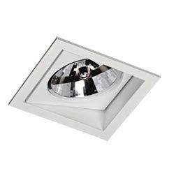 Luminária de Embutir AR111 Direcionável