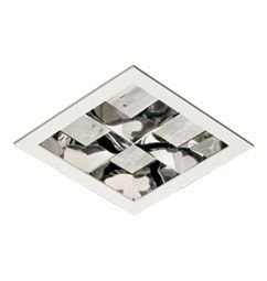 Luminária de Embutir Moldura Injetada 22x22cm