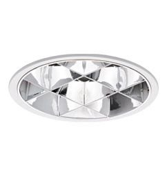 Luminária de Embutir Circular 21cm 2xE27/UN-4p