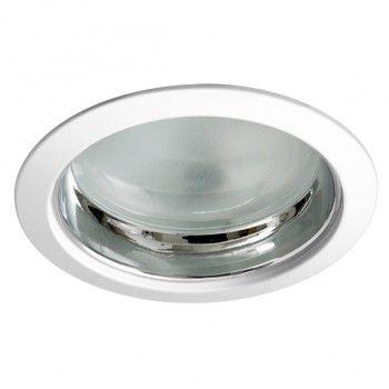 Luminária de Embutir Redonda 15cm 1xE27 Recuado