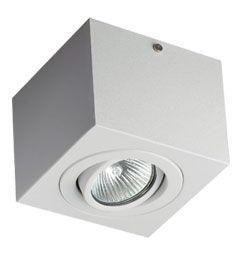 Luminária de Sobrepor Facho Orientável MR16 11x11x11cm