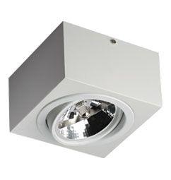 Luminária de Sobrepor Orientável AR111 17x17x10cm
