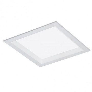 Luminária Quadrada de Embutir 19x19cm LED