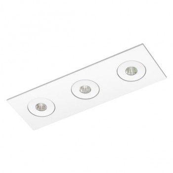 Luminária Retangular Embutir 8x25cm Direcional Micro Foco