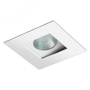 Spot Quadrada Foco Recuado Direcional 13,5x13,5cm PAR20