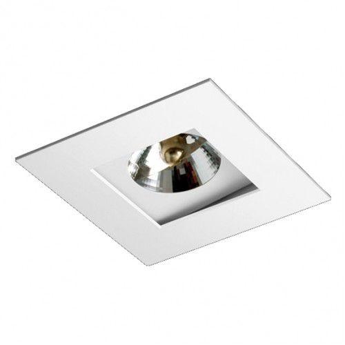 Spot Quadrado Foco Recuado Direcional 13,5x13,5cm AR70