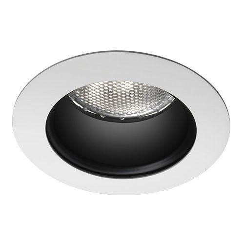 Spot Redonda Antiofuscante Foco Fixo Recuado 11cm AR70