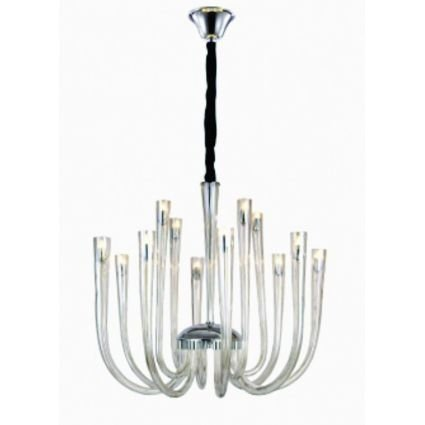Lustre Italy Champagne 90x70cm 12xG9