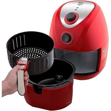 Fritadeira Philco Air Fry Saúde Inox PH 3,2 Litros 220v Vermelho