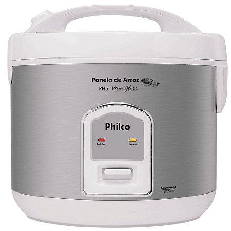 Panela de arroz PH5 Visor Glass Branca 220v