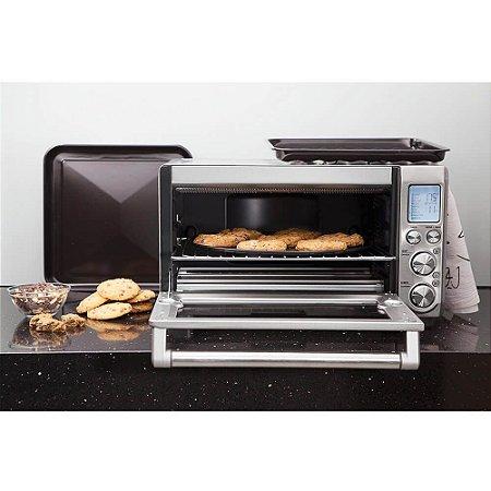 Forno Elétrico de Aço Carbono para Pizza com Base em Cerâmica 30 cm 127v Tramontina By Breville