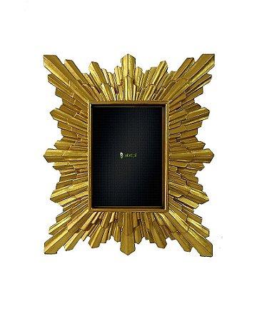 Porta Retrato  Dourado 40x45cm