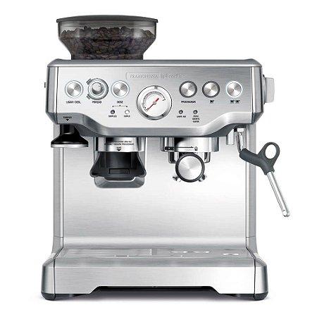 Cafeteira Elétrica Express Pro em Aço Inox com Moedor 2L 127v Tramontina By Breville