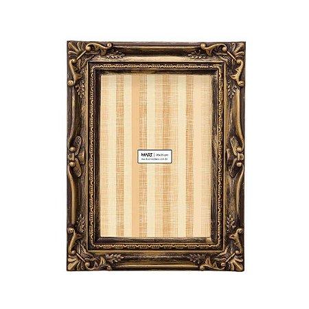 Porta Retrato Retangular Classic Mart Collection 13x18cm Cobre