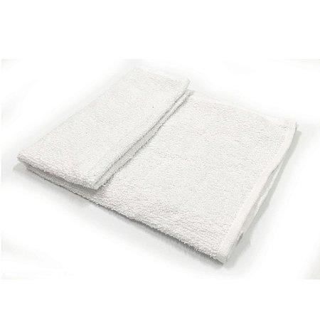 Toalha De Rosto modelo Liza - Cor Branca 42x68 cm