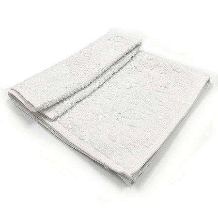 Toalha De Banho Luxo – Cor Branca 68cm X 1,36m