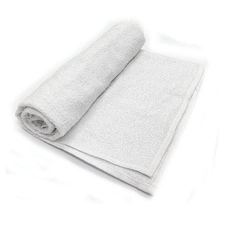 Toalha De Banho Barra –Cor Branca 68cm X 1,28m