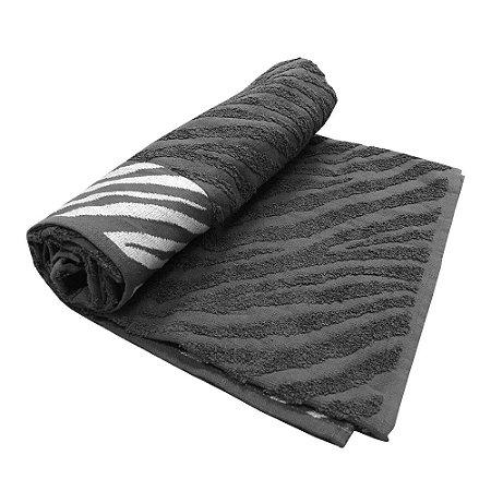 Toalha De Banho Safari – Cor Preta 75cm X 1,40m