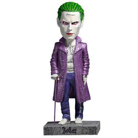 Estatueta Joker Esquadrão Suicida Pintado a Mão