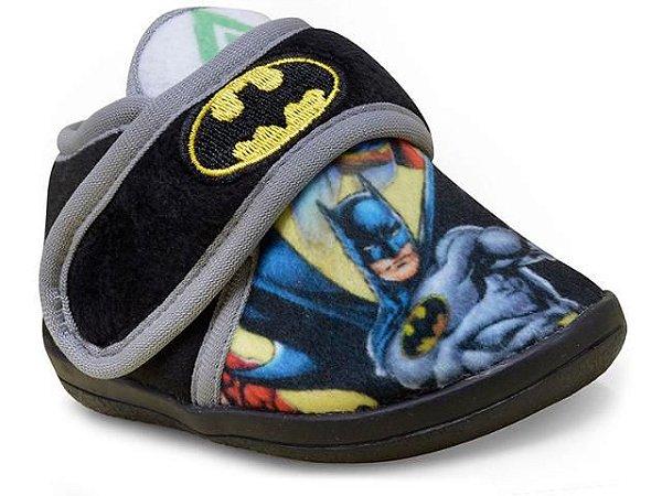 Pantufa Bota Infantil Batman