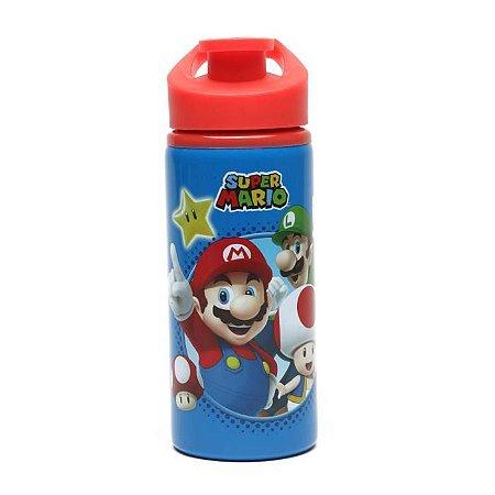 Garrafa Super Mario 500ml Em Aço Inox