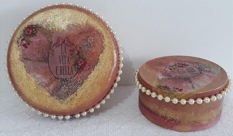 Porta-jóias Vintage