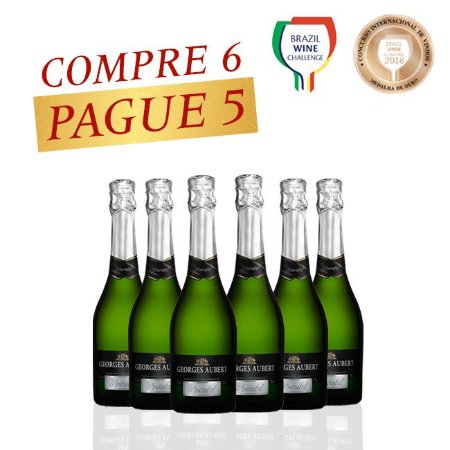 PROMOÇÃO MEDALHA DE OURO Georges Aubert Moscatel - LEVE 6 PAGUE 5
