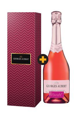 Georges Aubert Moscatel Rosé + Cartucho