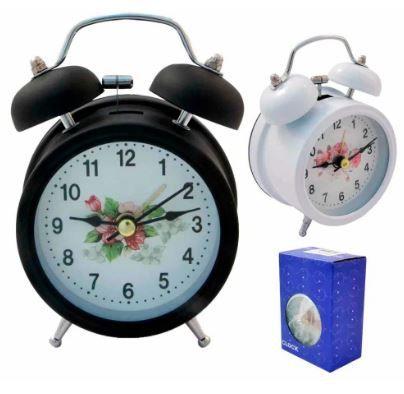 Relógio despertador de mesa