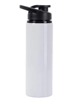 Squeeze de Alumínio Branco para personalização