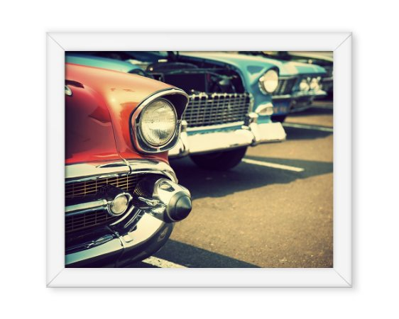 Quadro Carro Antigo Vintage
