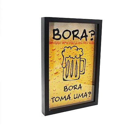 Porta Tampinhas - Bora tomar uma?