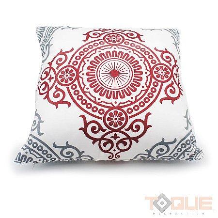 Almofada Mandala Vermelha