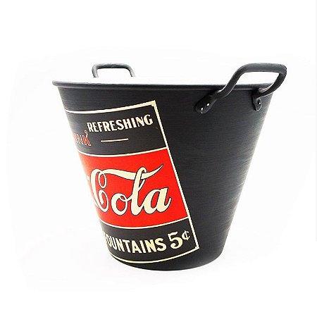 Balde de gelo da Coca Cola