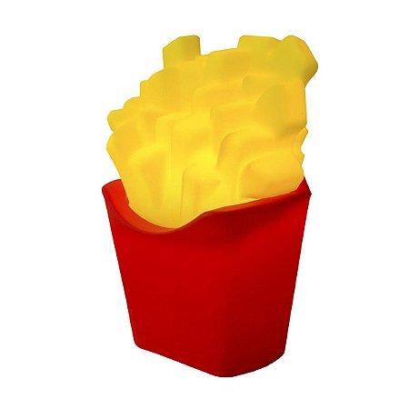 Luminária batata frita