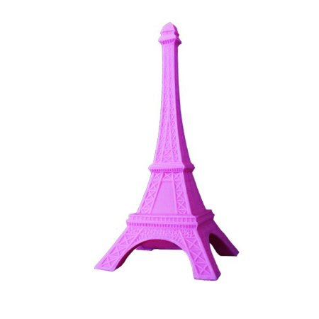 Luminária Torre Eiffel Rosa
