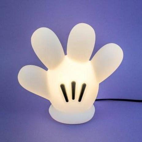 Luminária Disney com a Luva do Mickey