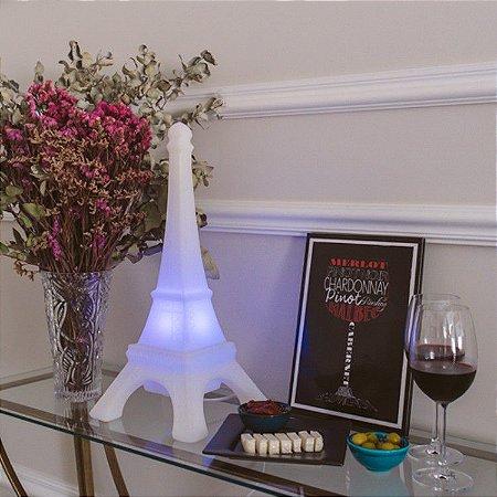 Luminária Torre Eiffel Branca