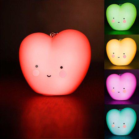Chaveiro Led - Coração