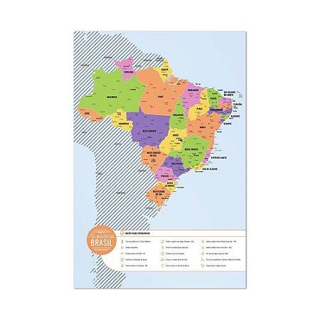 Mapa Brasil Raspadinha