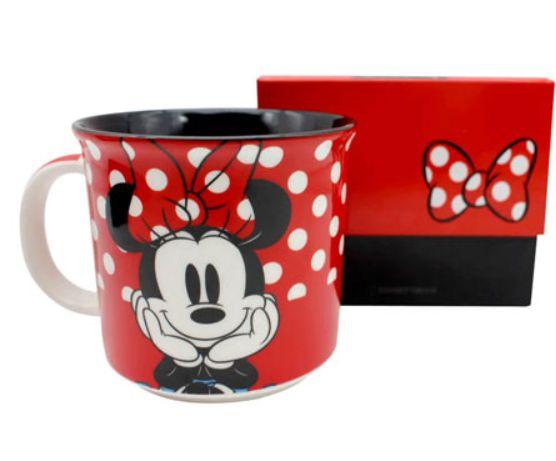 Caneca Minnie Mouse Poa