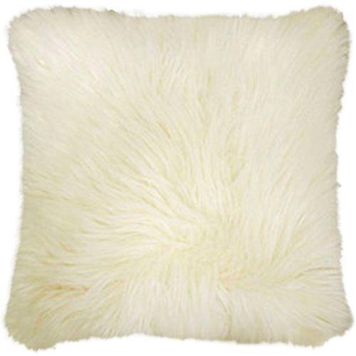 Capa de Almofada Polar Branca